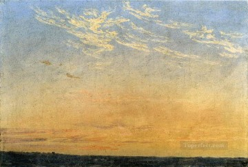 Evening Romantic Caspar David Friedrich Oil Paintings